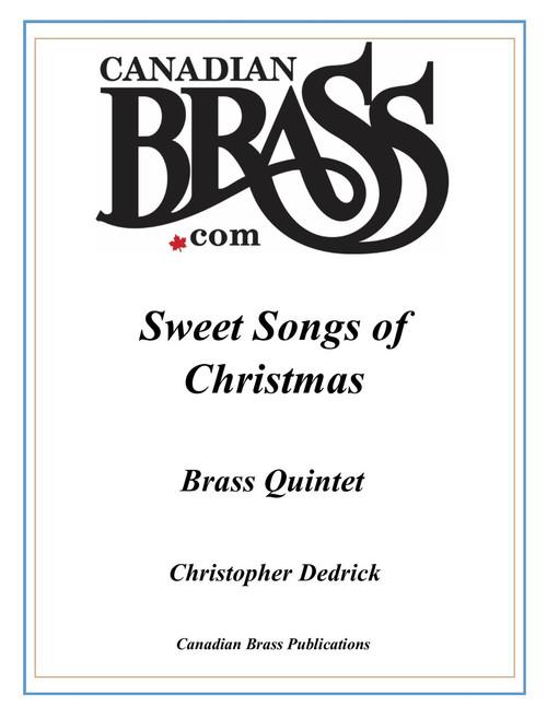 Sweet Songs of Christmas for Brass Quintet (Christopher Dedrick) PDF Digital Download