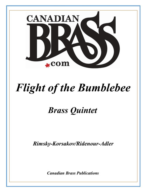 Flight of the Bumblebee Brass Quintet (Rimsky-Korsakov/Ridenour adapted by Adler)