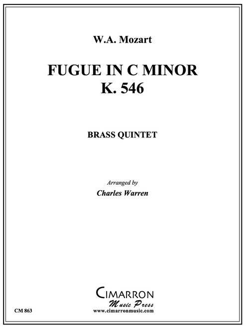 Fugue in C Minor, K. 546 Brass Quintet (Mozart/arr. Warren)