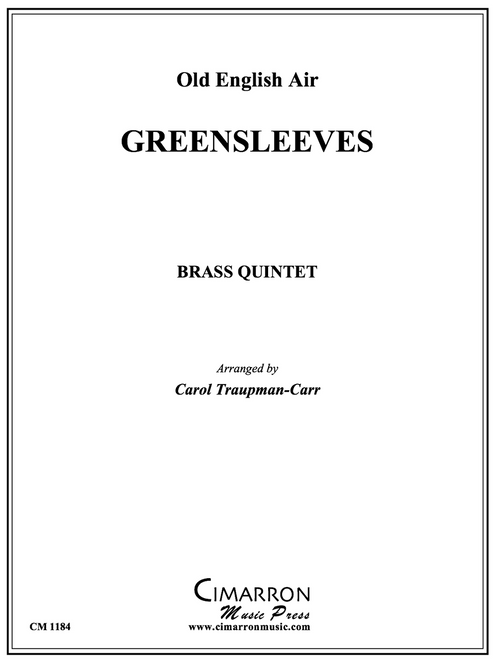 Greensleeves for Brass Quintet (Trad./arr. Traupman-Carr) PDF Download