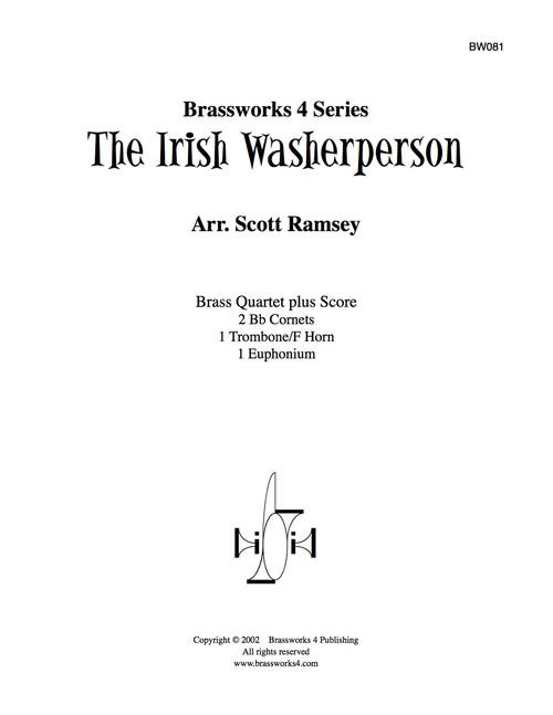 Irish Washerperson Brass Quartet (Trad./arr. Ramsey)