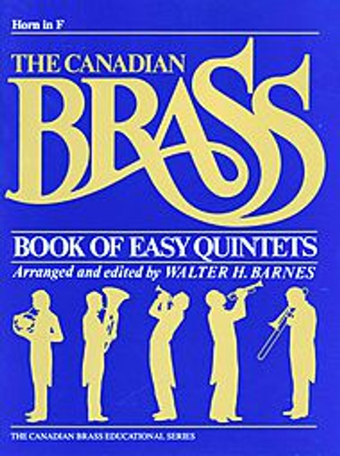 Canadian Brass Book of Easy Brass Quintets