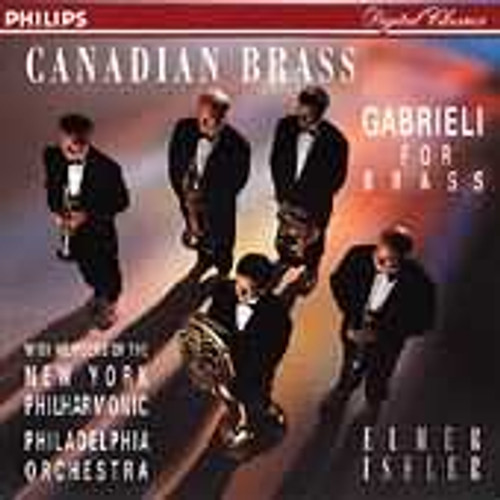 GABRIELI FOR BRASS CD (Canadian Brass & Friends)