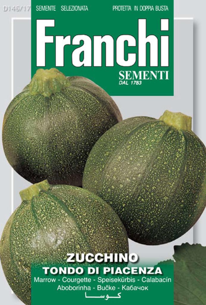 Zucchini Tondo di Piacenza (146-17)
