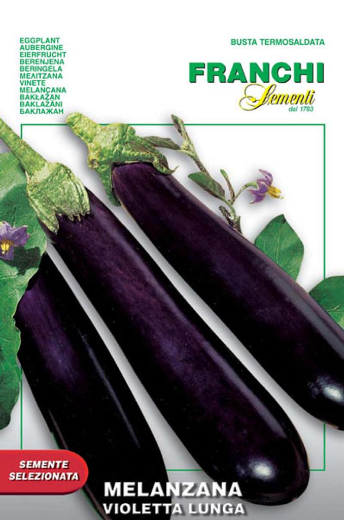 Eggplant Violetta Lunga (90-1)