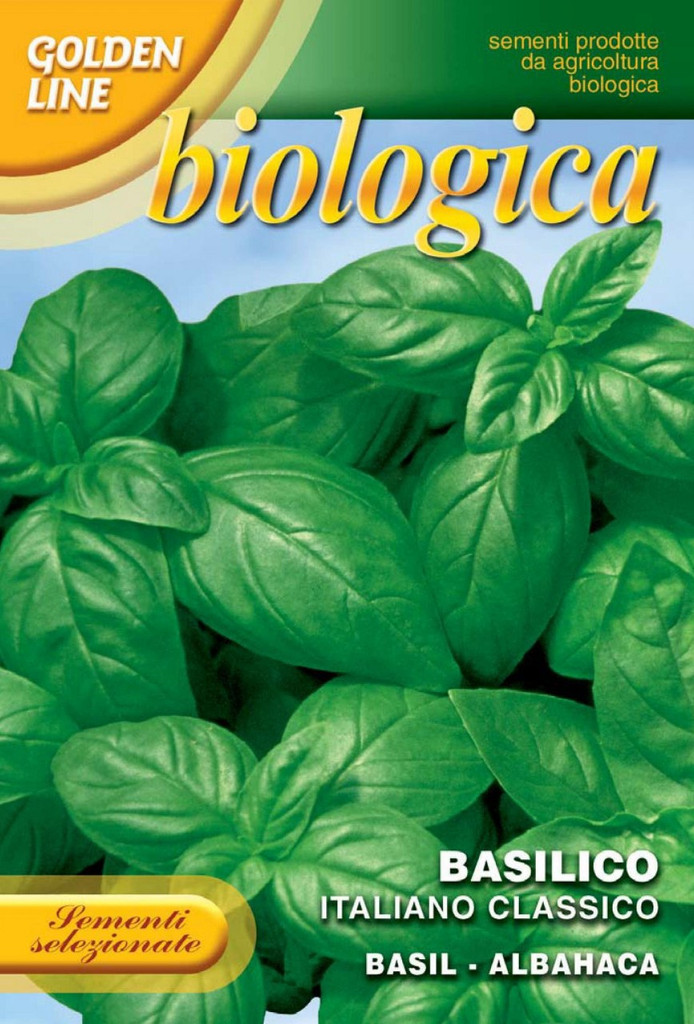 Basil Italiano Classico - Certified Organic (13-2B)