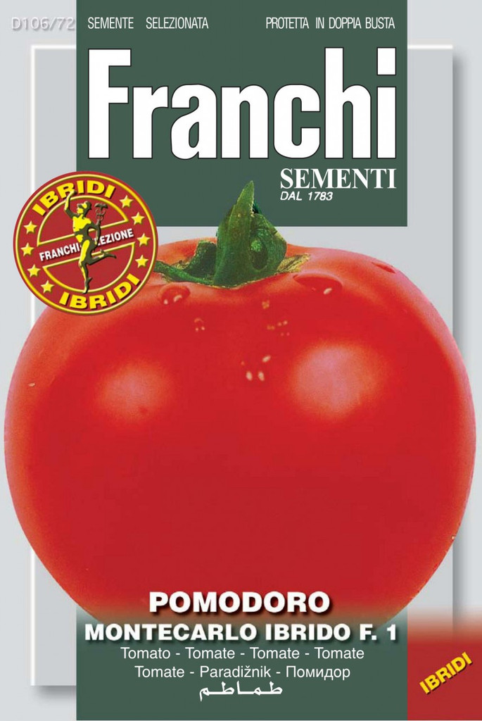 Tomato Montecarlo F1 (106-72)