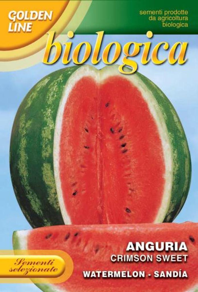 Watermelon Crimson Sweet -- Certified Organic (3-6B)