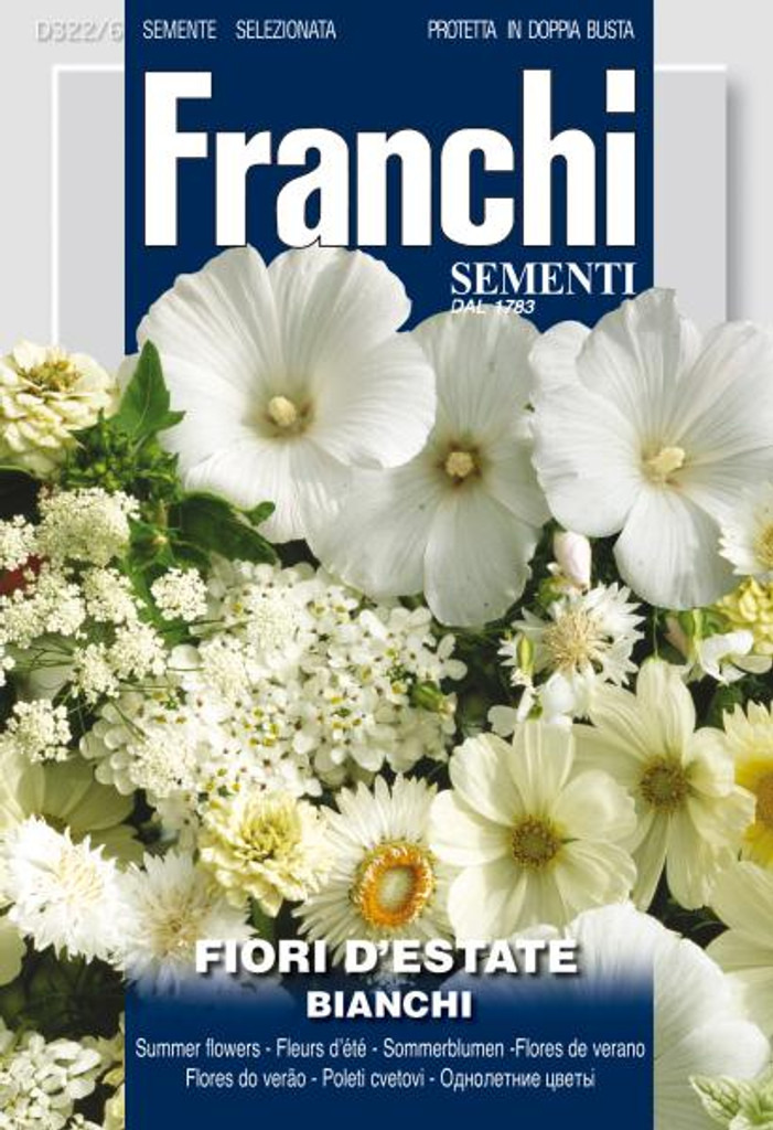 Summer Flowers Mix- White/ Bianchi (322-6)