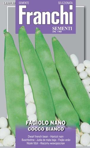 Pole Bean Coco Bianco  (57-48)