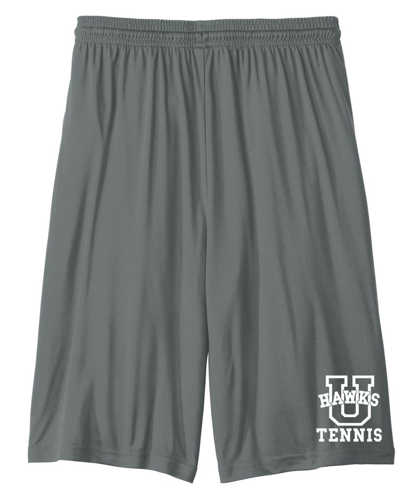 UHS Urbana Hawks Shorts TENNIS Performance with Pockets ADULT & YOUTH IRON GREY