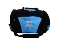 Paw Prints Vet Tech Personalized Embroidered LIGHT BLUE DUFFEL Font Style CHICAGO