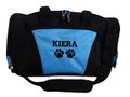 Paw Prints Dog Vet Tech Personalized Embroidered Duffel