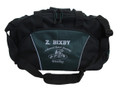 Wrestling Wrestlers Coach Mom Team Personalized Embroidered HUNTER GREEN DUFFEL Font Style VARSITY and MONO CORSIVA