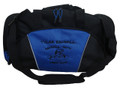 Wrestling Wrestlers Coach Mom Team Personalized Embroidered ROYAL BLUE DUFFEL Font Style MARKER CAP