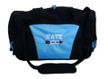 Cross Country Arrow Track & Field Coach Mom Team Personalized Embroidered LIGHT BLUE DUFFEL Font Style VARSITY