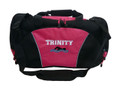 Swimming Swimmer Icon Diving Under Water Sports Personalized Embroidered TROPICAL HOT PINK DUFFEL Font Style VARSITY