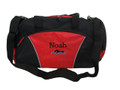Swimming Swimmer Icon Diving Under Water Sports Personalized Embroidered RED DUFFEL Font Style JESTER