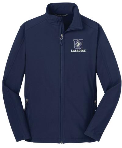 Urbana Hawks LACROSSE Softshell Jacket DRESS BLUE NAVY