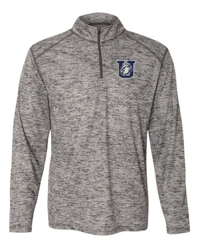 Urbana Hawks Quarter Zip Performance UHS Sweatshirt Tonal Blend Badger Polyester Many Colors Available GRAPHITE