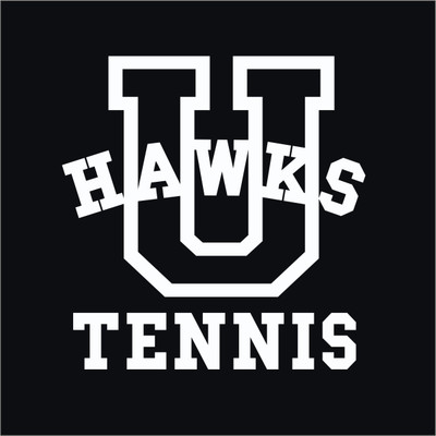 Urbana Hawks Vinyl Decal TENNIS Car Truck Mirror Wall Laptop Tablet Yeti Thermos