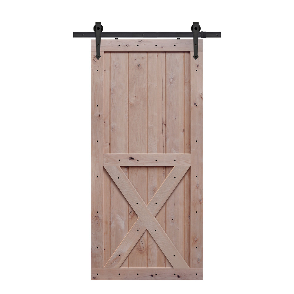 X Two Panel Barn Door