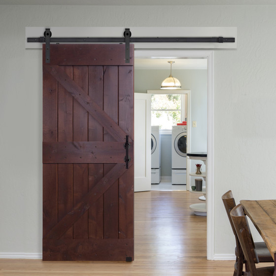 Double z barn door for Narrow barn door
