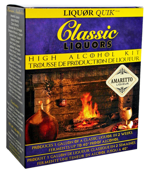 Classic Liquors 4L High Alcohol Kit - Amaretto