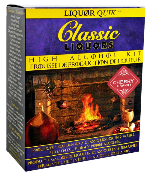 Classic Liquors 4L High Alcohol Kit - Cherry Brandy