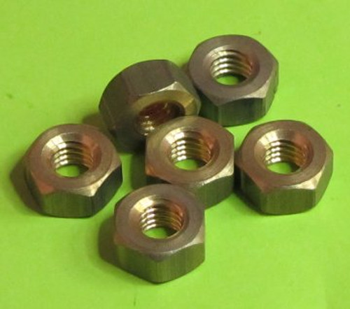 Brass Nuts  Hexagon