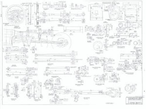 "BB18 1/4"" Locomotive Plans"