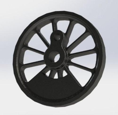 A12 Main Driving Wheel finished wheel shown
