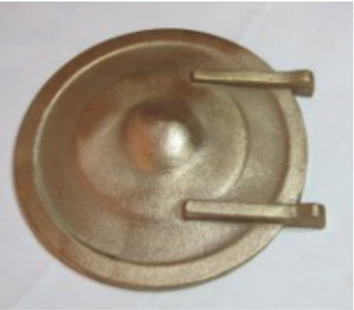 Smokebox Door in Bronze