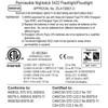 Intrinsically Safe Permissible Dual-Light™ Flashlight XPP-5422B