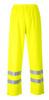 Portwest Sealtex Flame Hi-Vis Pants: Front View Yellow