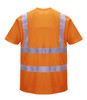 Portwest Hi-Vis T-Shirt - SET OF TWO: Back View