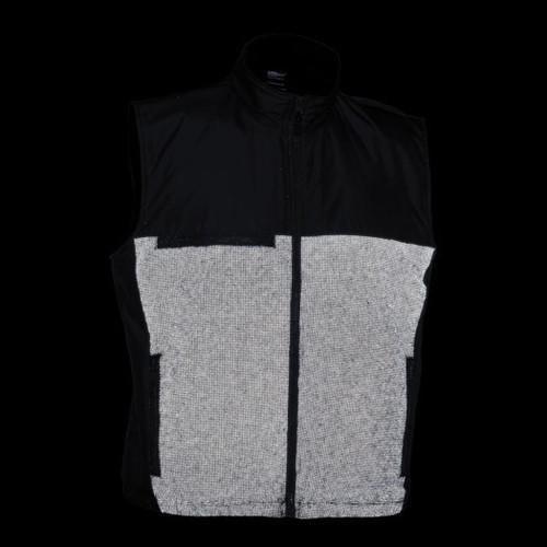 illumiNITE Reflective EMS Storm Vest in Black Night View