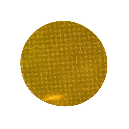 "Reflexite Reflective Agricultural 3"" Round Yellow Sticker"