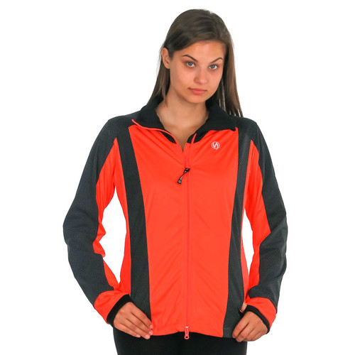 illumiNITE Reflective Women's Portland Cycle Jacket Coral