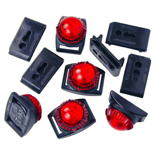BULK Adventure Lights Guardian LED Expedition Light RED