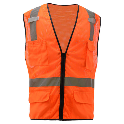 1505/1506 Class 2 Multi-Purpose Vest w/ 6 Pockets