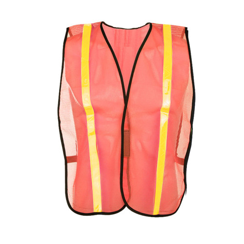 3004 NON ANSI MESH SAFETY VEST WITH HOOK & LOOP CLOSURE