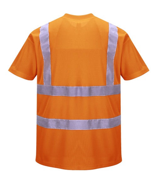 Portwest Hi-Vis T-Shirt - SET OF TWO: Back View