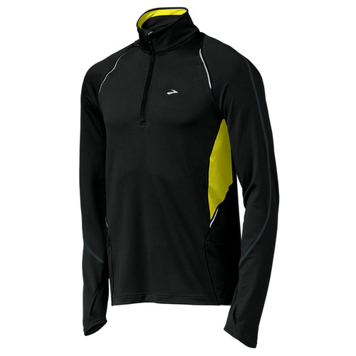 Brooks Running Infiniti Half Zip Black/Nightlife