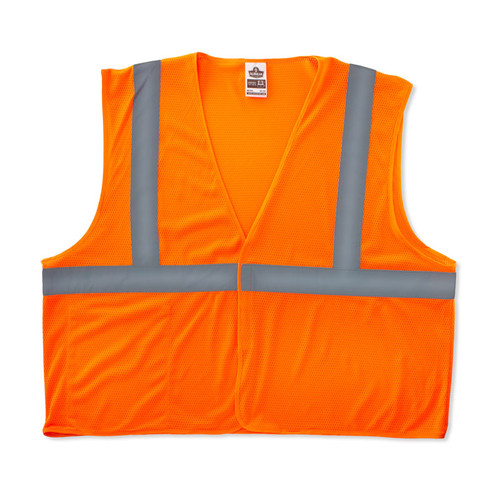 Hi-Vis Orange GloWear Class 2 Eco Vest