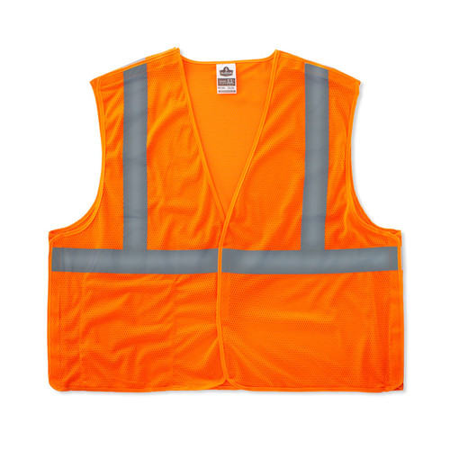 Hi-Vis Orange Class 2 Econo Breakaway Vest