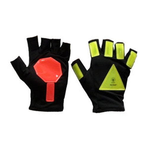 Glo Glov Super Stop Reflective Traffic Safety Gloves
