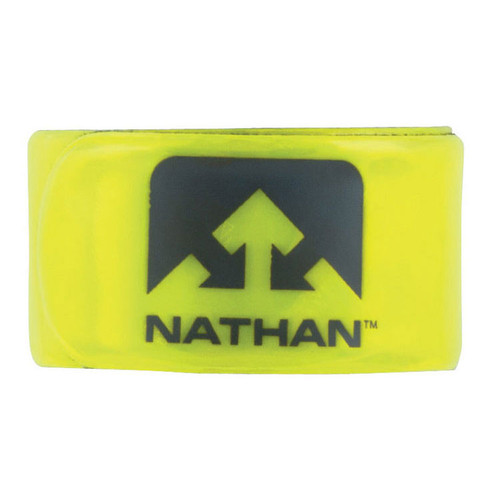 Nathan Reflex Slap Band in Yellow