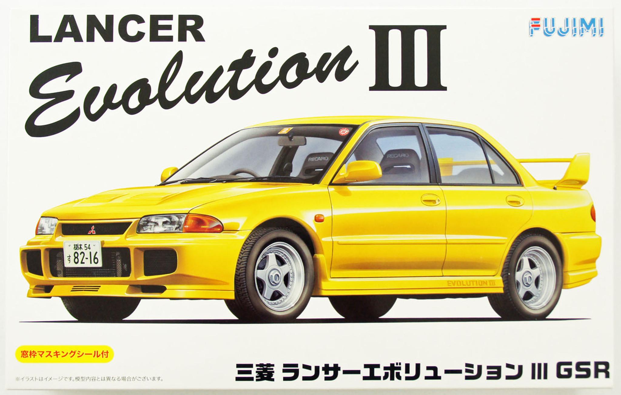 Image result for Fujimi lancer evolution 3