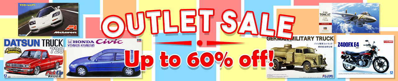 Plaza Japan Outlet Sale up to 60% off!